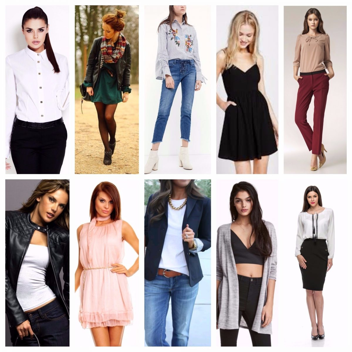 Top 10 piese vestimentare usor de asortat