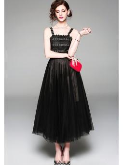 Rochie lunga eleganta din...