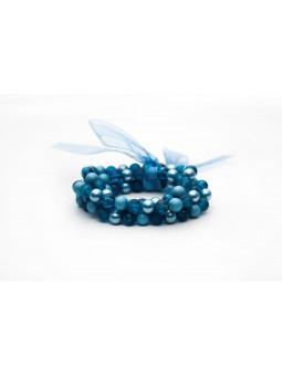 Bratara Blue Pearl