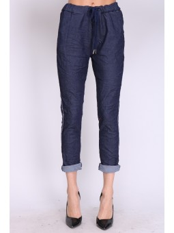 Pantaloni casual din denim