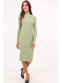 Rochie vernil tricotata