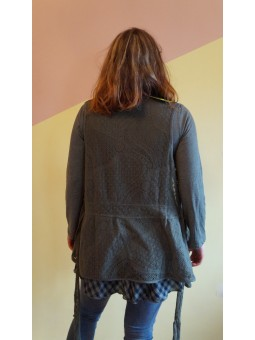 Bluza dama lunga din 2 piese