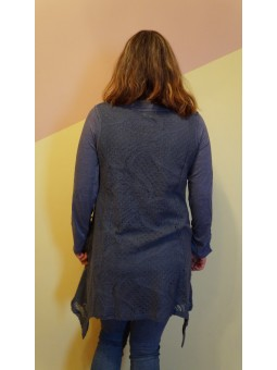 Bluza lunga din 2 piese