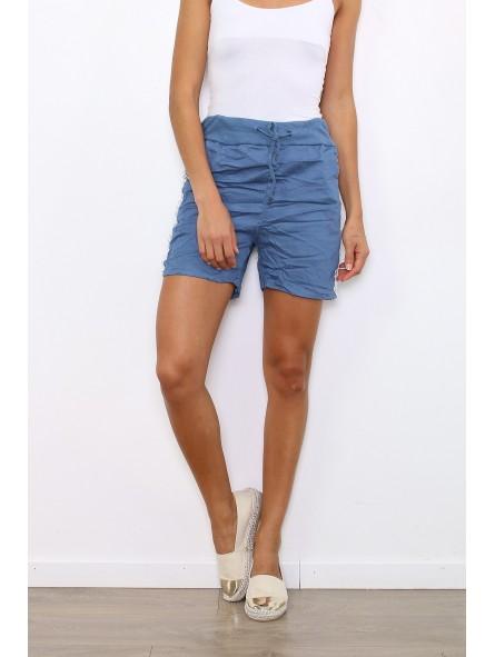 Pantaloni scurti bleu